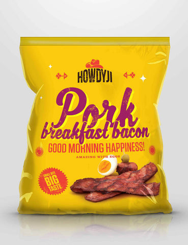 Howdyji - Pork Breakfast Bacon (200g) - Lion Fresh