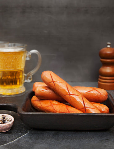Pork Bockwurst Sausage (280g) - Lion Fresh - 1