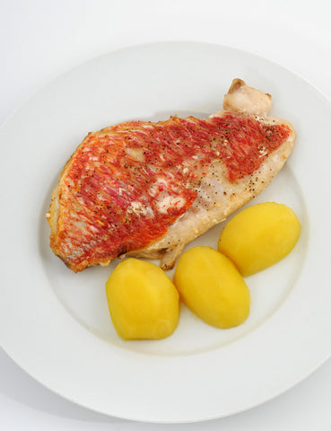Red Snapper Fillets - Skin On (300g Three Fillets) - Lion Fresh