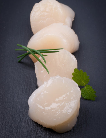 Scallops - Deshelled (250g) - Lion Fresh