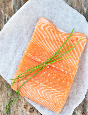 Norwegian Salmon Fillet - Imported (200g Single fillet pack) - Lion Fresh
