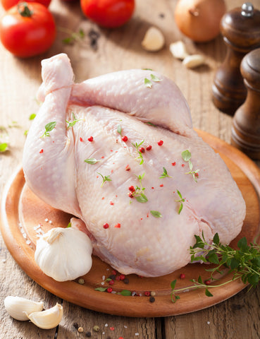 Whole Chicken - Skinless (Approx 700g) - Lion Fresh