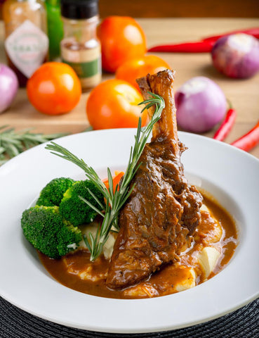 Lamb Shanks - Imported - Sous Vide (Approx 700g) - Lion Fresh