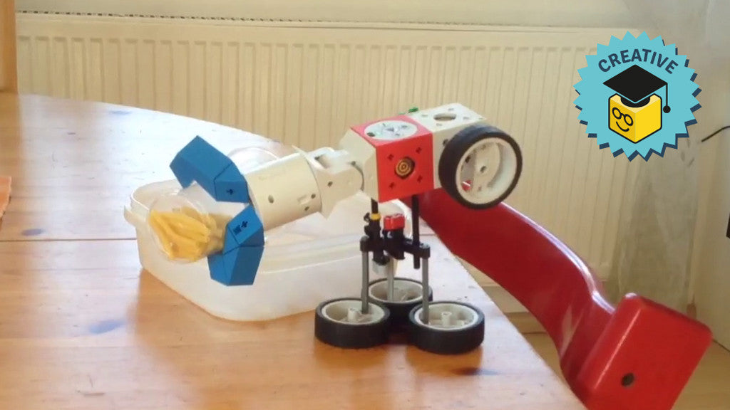 Be creative & send us your Tinkerbots
