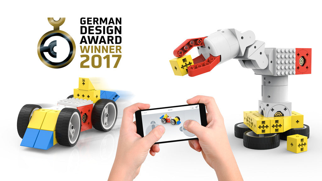Tinkerbots wins 2017 German Design Award