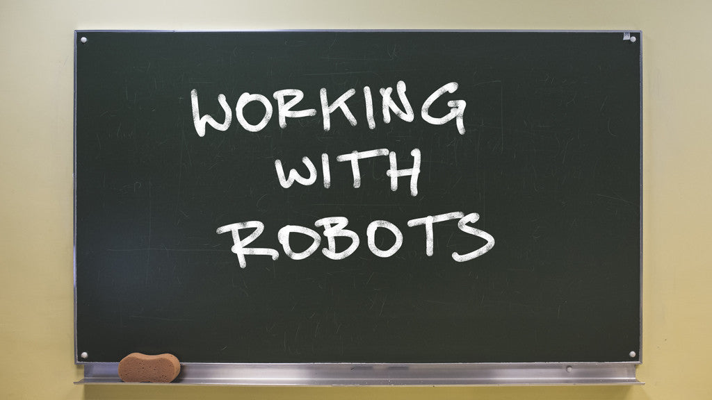 Putting the work with robots on the curriculum