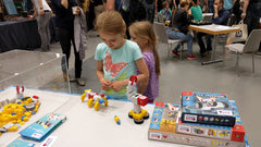 Tinkerbots at Maker Faire 2016