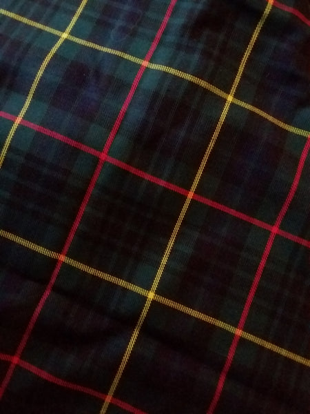 Embroidered Tartan Clan & Speciality