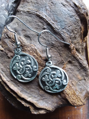 Celtic Garden Earrings