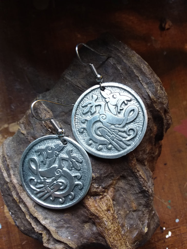 Zoomorphic Earrings