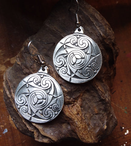 Temple Spiral Earrings