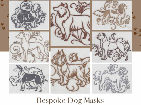 Bespoke Fitted Masks- Dogs
