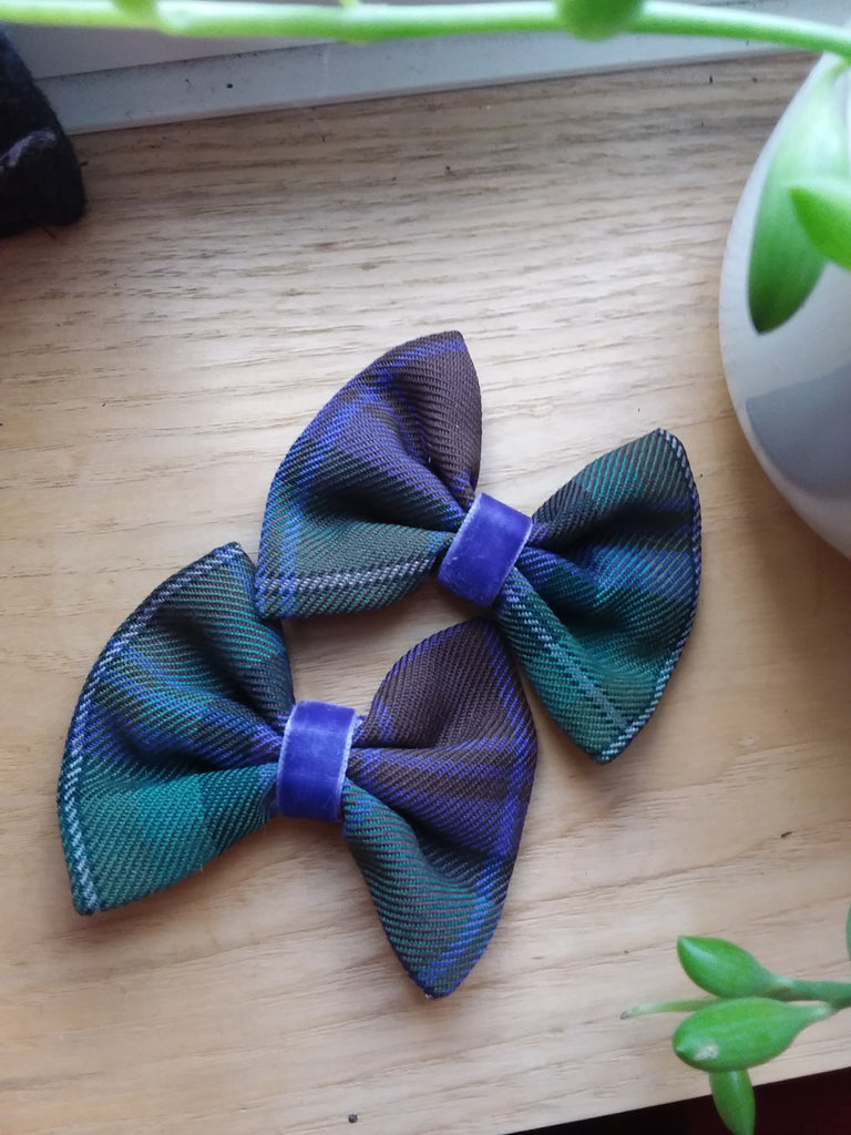Hair Clips-Clan and Specialty tartans