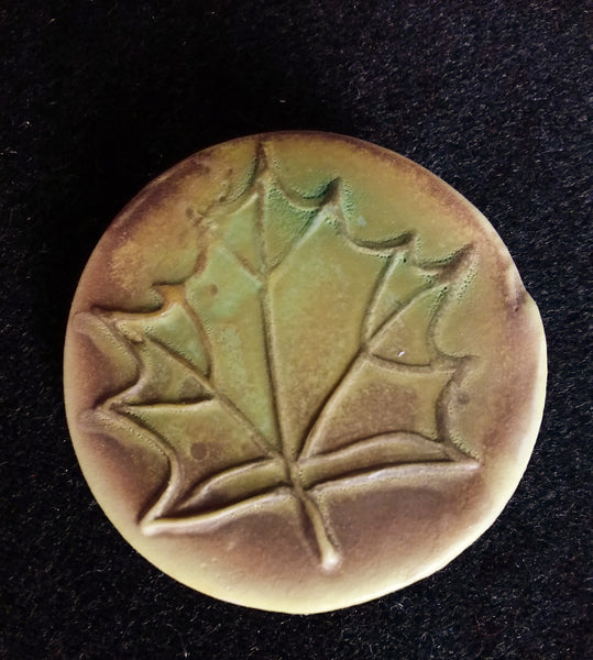 Maple Leaf Brooch