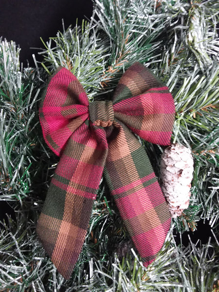 Maple Leaf Tartan Christmas