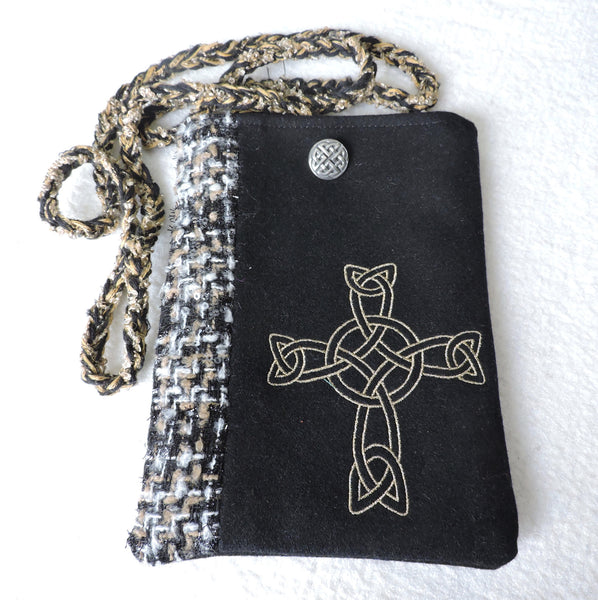 Wee Purse - Celtic Cross
