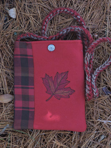 Wee Purse - Maple Leaf Tartan