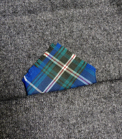 Nova Scotia Tartan pocket square
