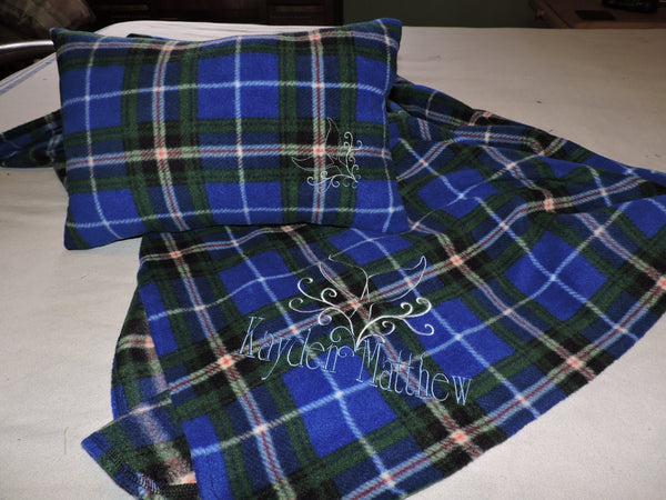 Nova Scotia Tartan Pillow