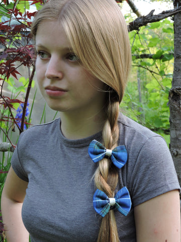 Nova Scotia Tartan Hair Bow