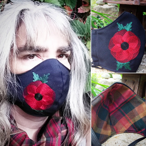 Flower Power Fitted Masks