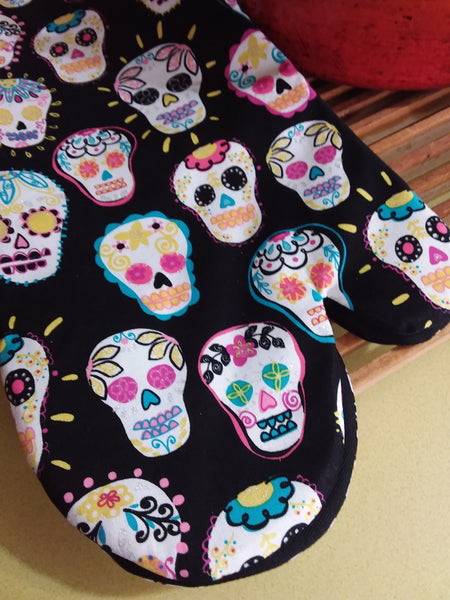 Oven Mitts Cotton Prints
