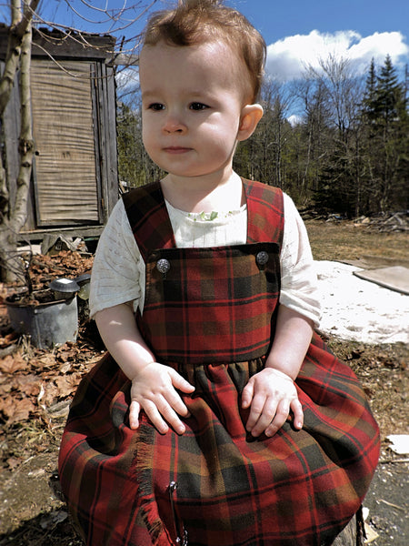 Maple Leaf Tartan Dress