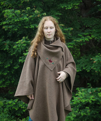 Shonag Maple Leaf Cape