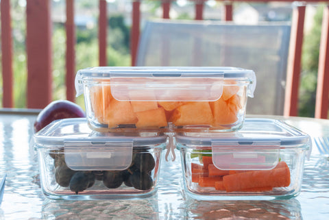 Basic Haus Glass Food Storage Containers