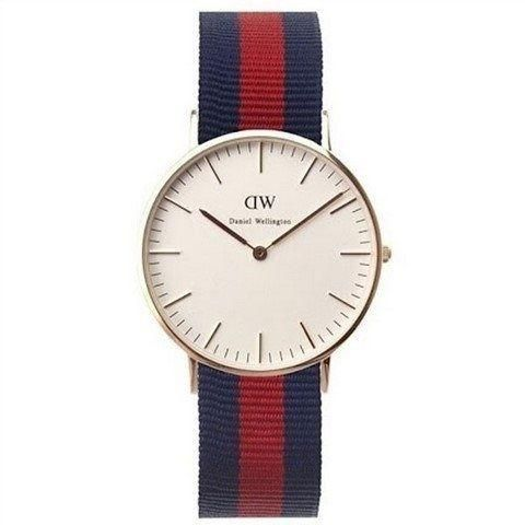 Ur - Daniel Wellington - Oxford - Dameur - Blå/Rød