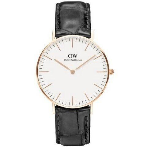 Ur - Daniel Wellington - Reading - Dameur - Sort