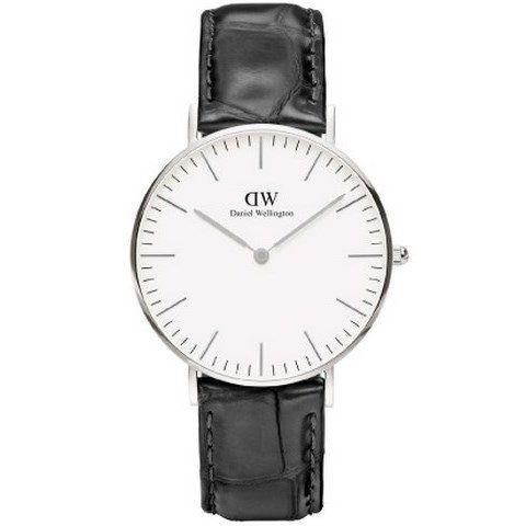 Ur - Daniel Wellington - Reading - Dameur - Sort/Sølv