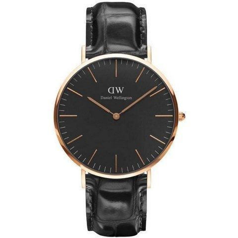 Ur - Daniel Wellington - Classic Reading - Rosegold/Sort