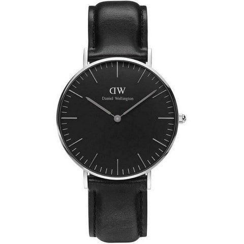 Ur - Daniel Wellington - Sheffield - Dameur - Sort/Sort