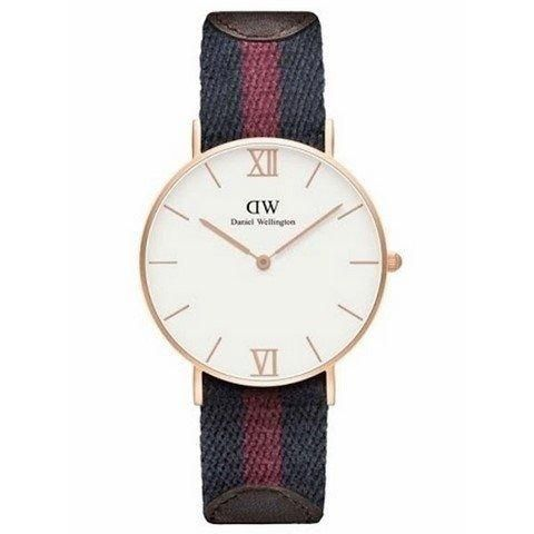 Ur - Daniel Wellington - Grace London - Dameur - Blå/Rød