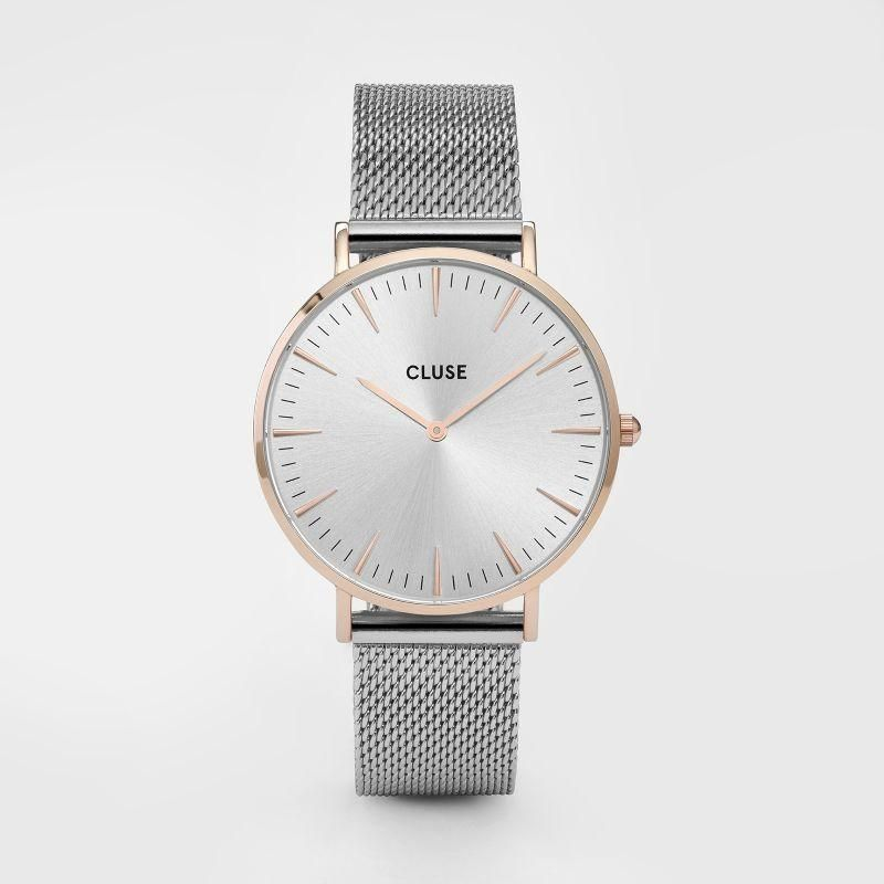 a6c20e160d8 Ur - CLUSE - La Boheme Mesh - Dameur - Rose Gold/Silver | Watchbands ...