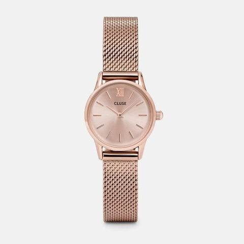 Ur - CLUSE - La Vedette Mesh - Dameur - Full Rose Gold