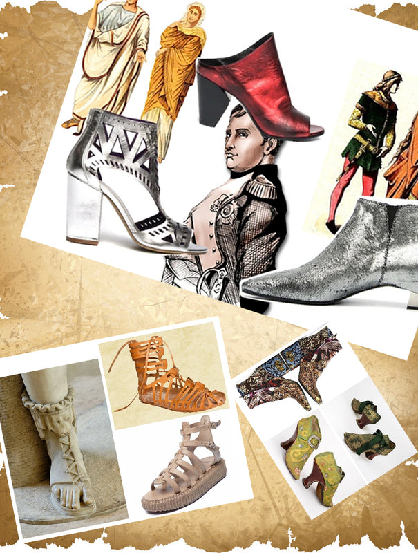 THE HISTORY AND EVOLUTION OF SHOES