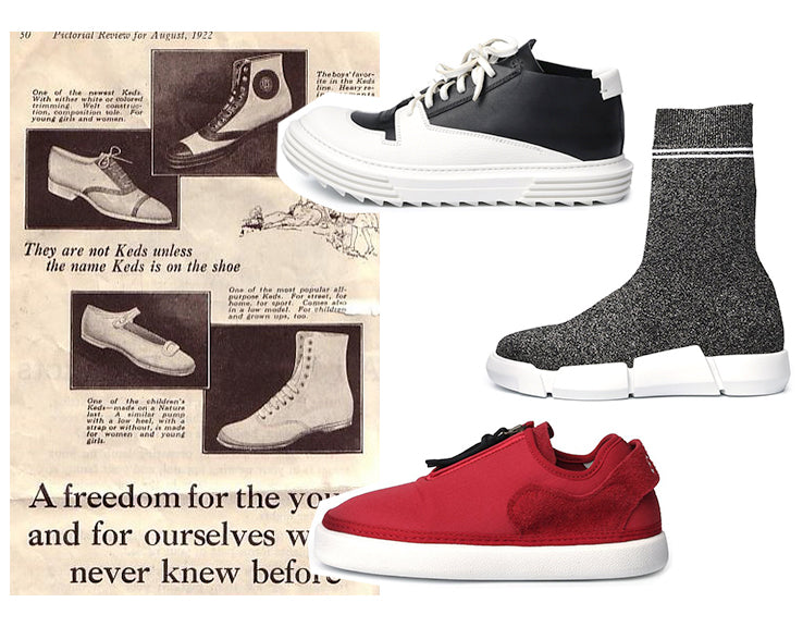 THE HISTORY AND EVOLUTION OF SHOES – DOLITA