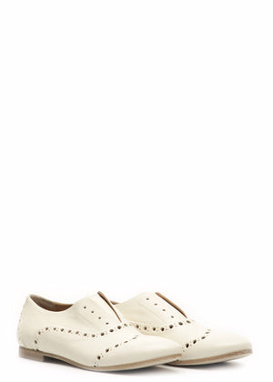 Creme Loafers - DOLITASHOES.COM