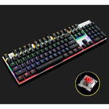 Mechanical Gaming Keyboard With Anti-Ghosting And Customizable Backlight
