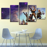 Fortnite Battle Royal Team Up Canvas Art