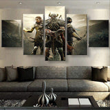 Elder Scrolls Canvas Art