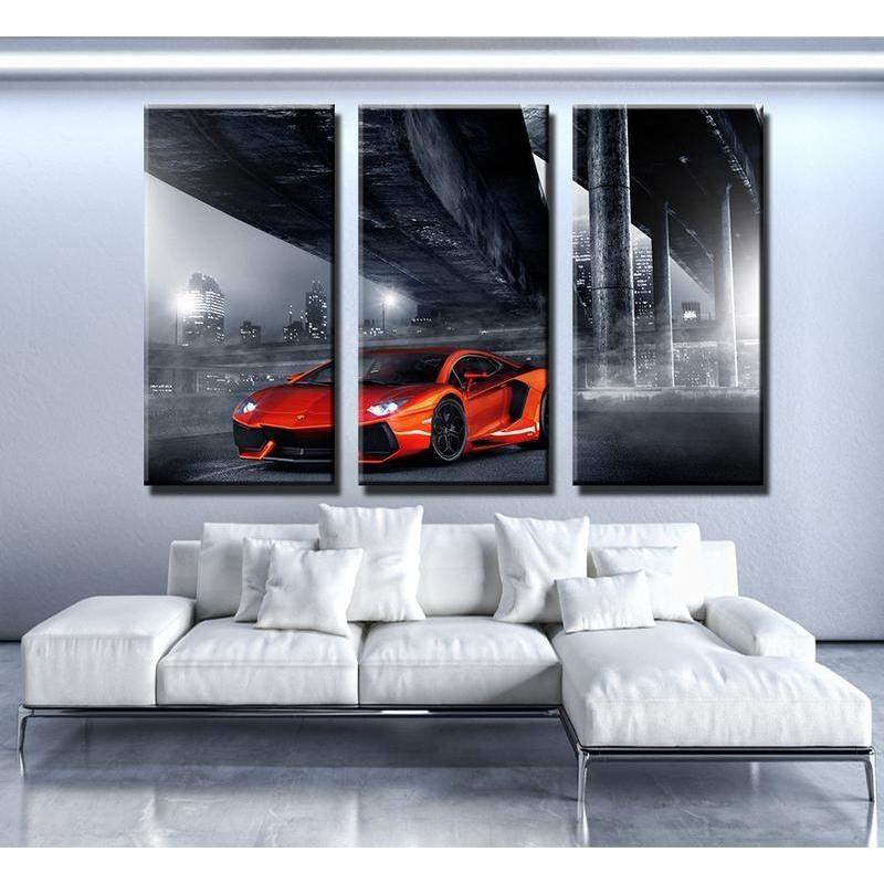 Lamborghini Aventador Canvas Art