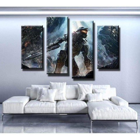 Halo 4 Canvas Art