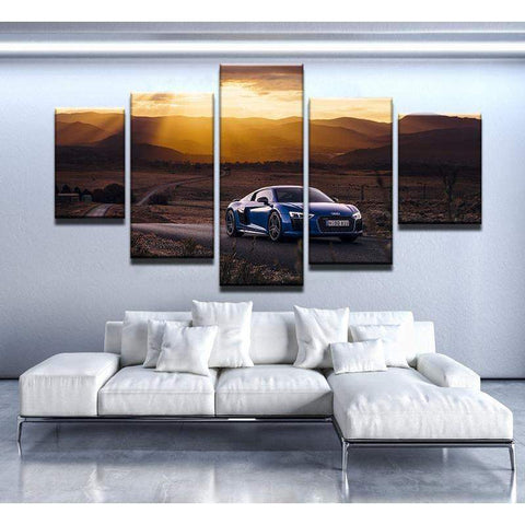 Audi R8 V10 Canvas Art