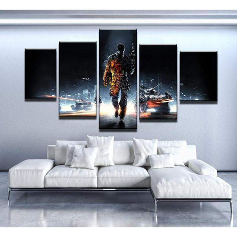 Battlefield Canvas Art