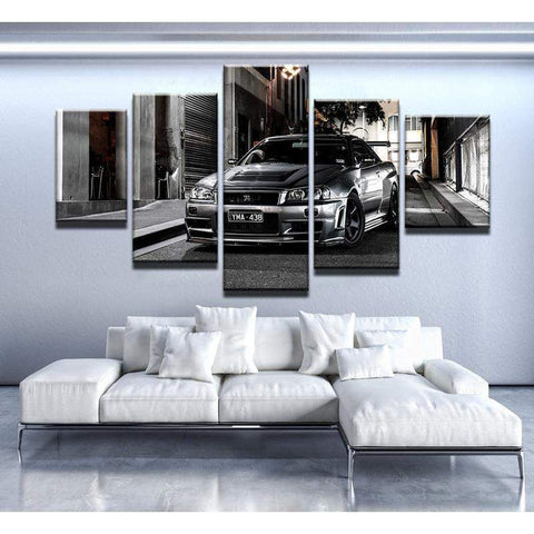 Nissan Skyline GTR Canvas Art