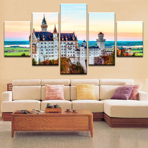 Neuschwanstein Castle Canvas Art