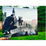 Assassin's Creed City View Canvas Art